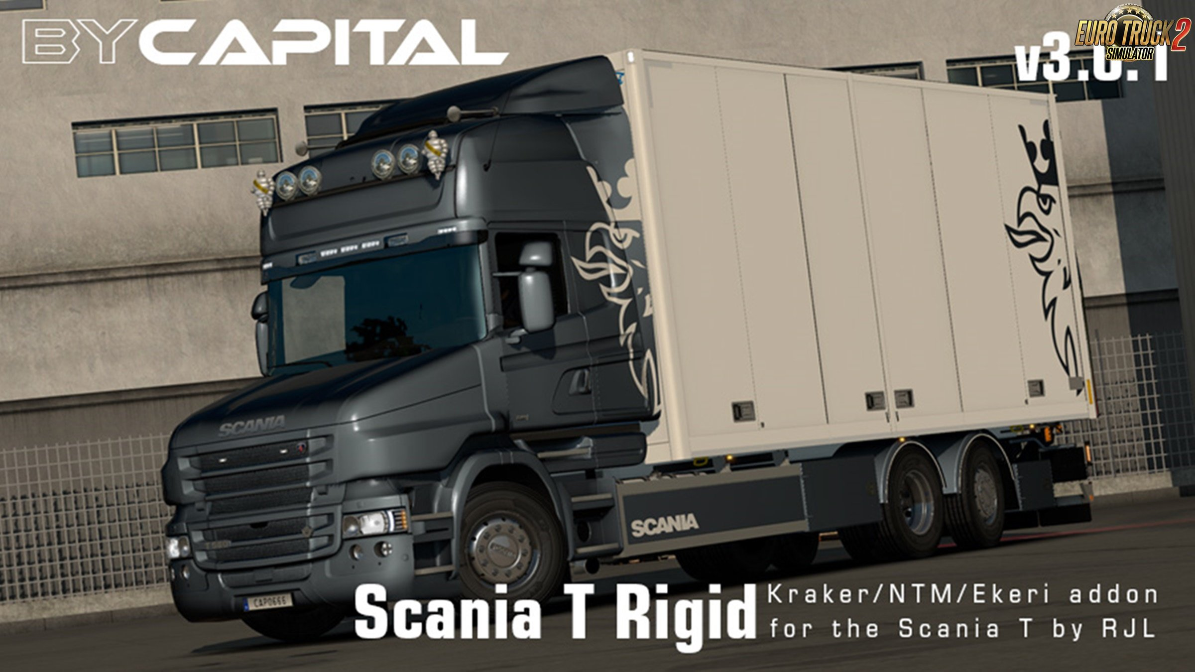 Rigid chassis for RJL Scania T & T4 (Kraker/NTM/Ekeri) v3.0.1 - ByCapital