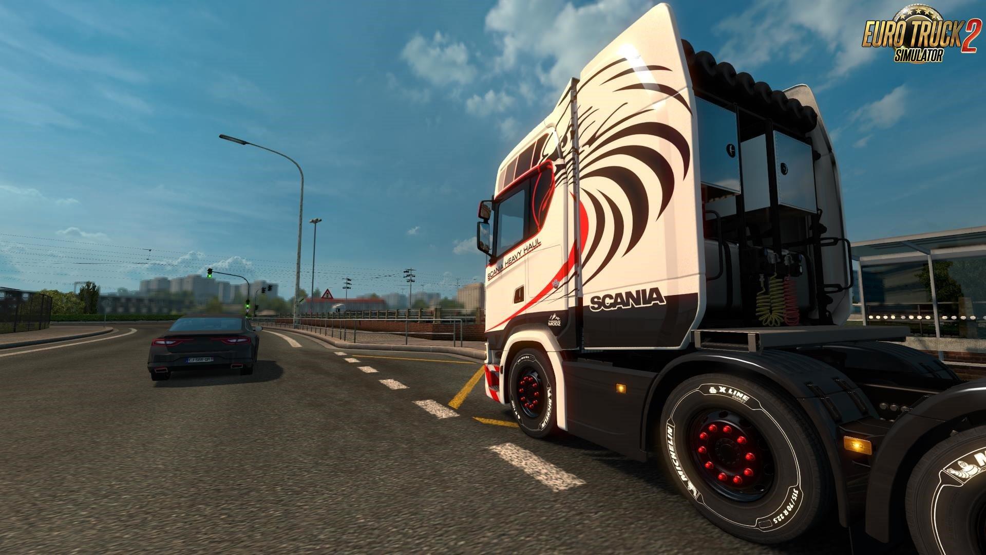 Scania S 8×4 Heavy Haul Skin