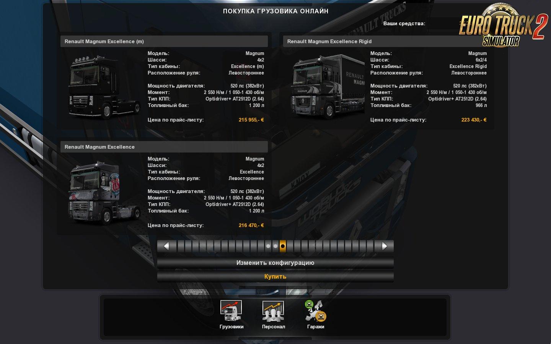 Renault Magnum Updates v20.02 for Ets2/Ats [1.32.x]