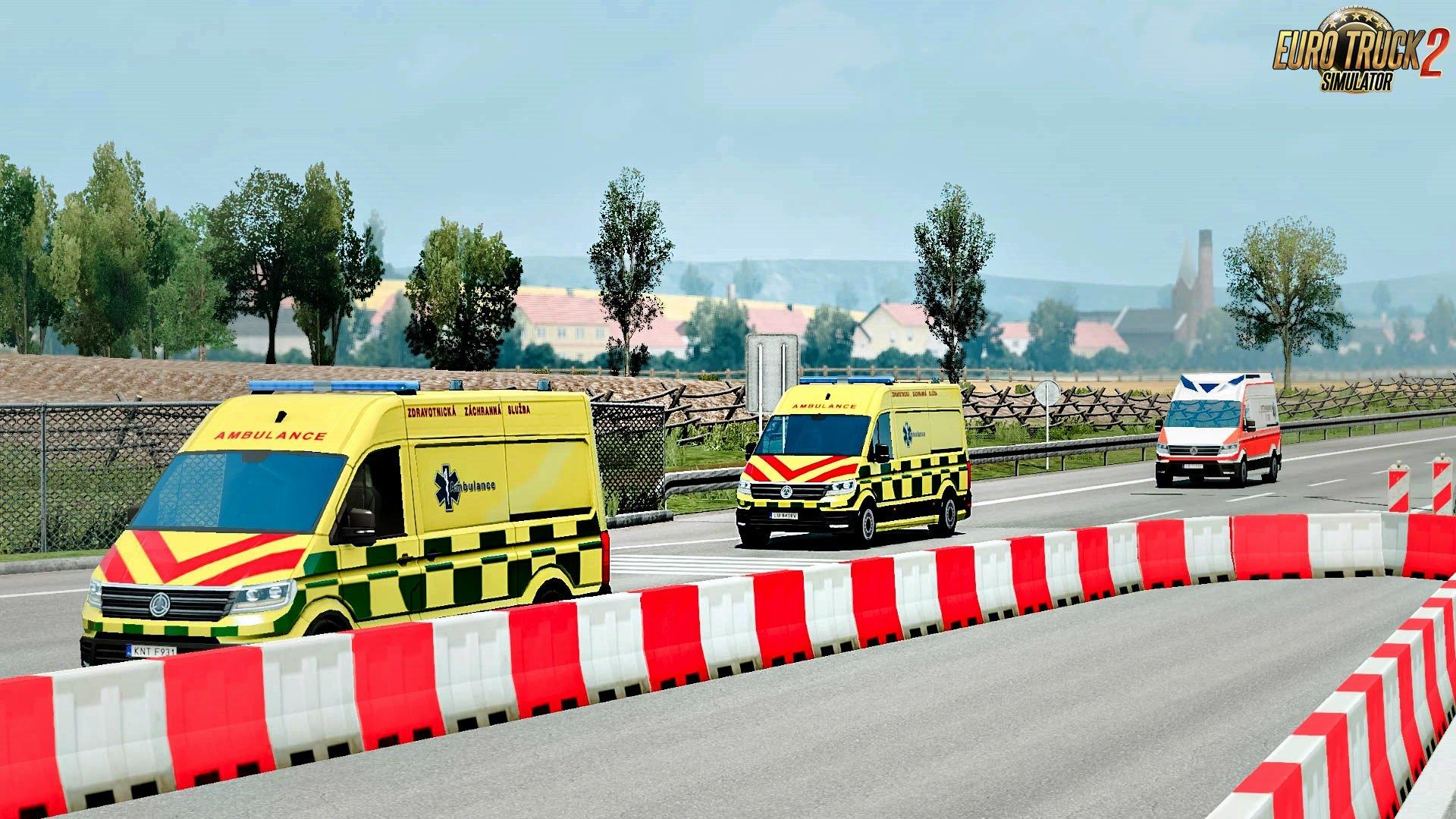 Special Vehicles traffic v1.2