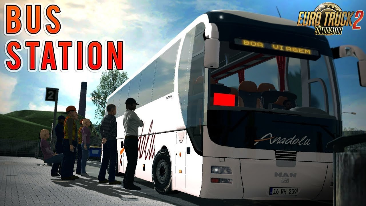 Bus Stations Mod v2.0 (1.32.x)