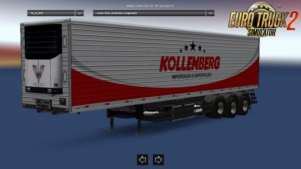 Trailer pack Varosi v3.2 for Ets2