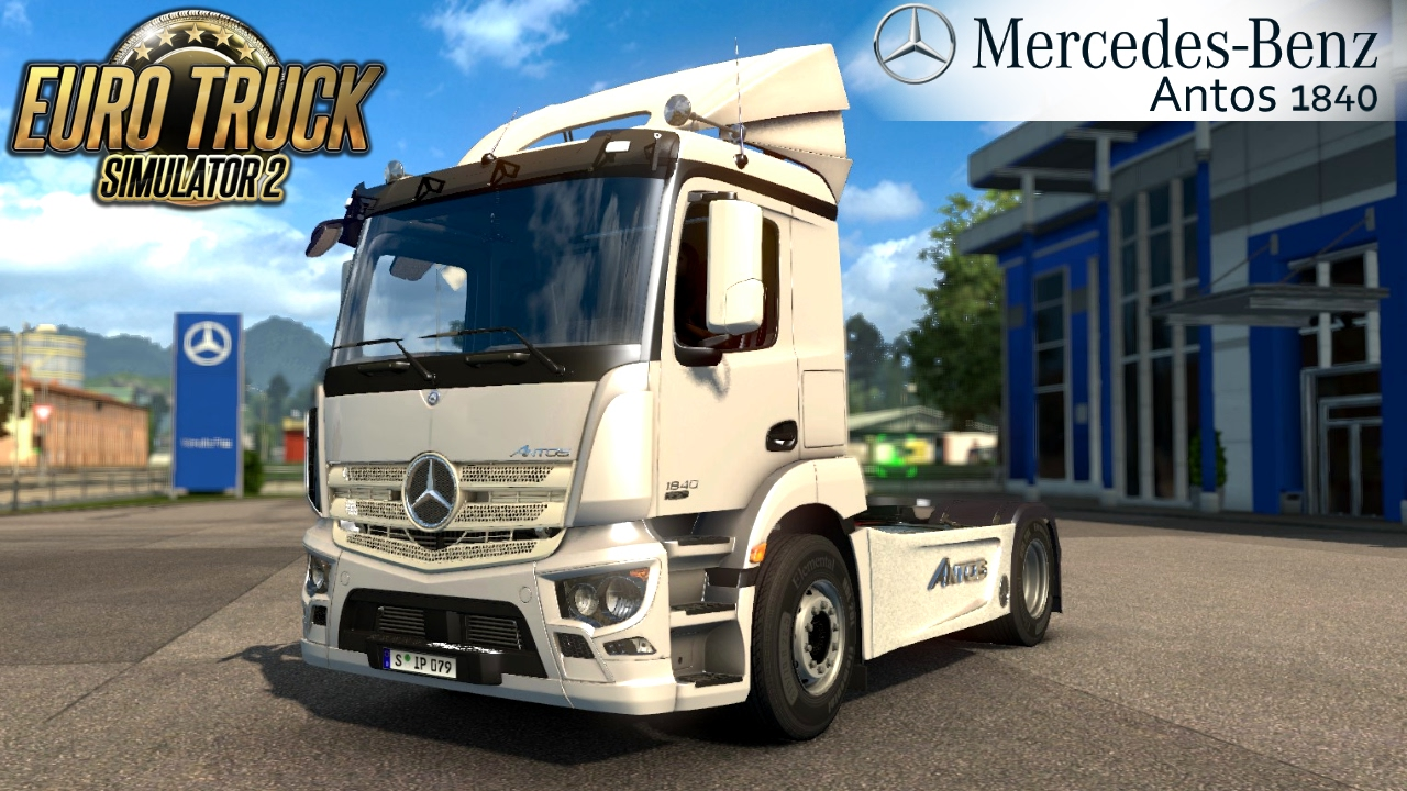 Mercedes Antos 1840 + Interior v3.0 (1.31.x)