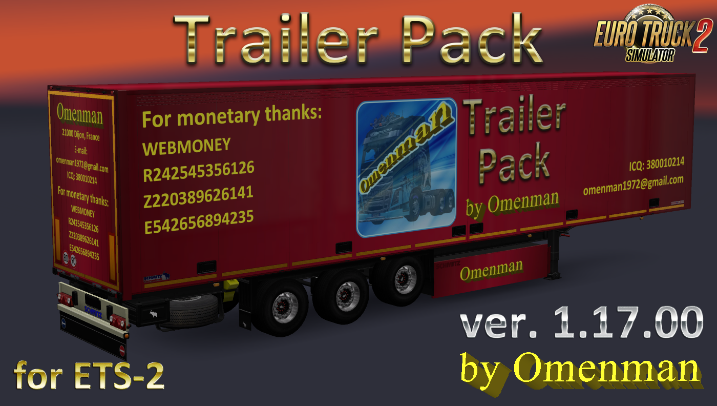 Big Trailer Pack v.1.17.00 by Omenman