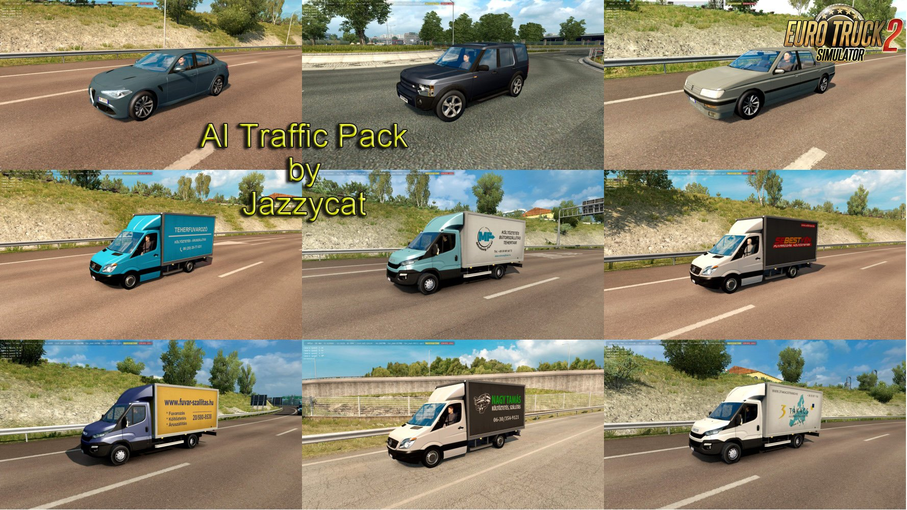 AI Traffic Pack v7.7 by Jazzycat