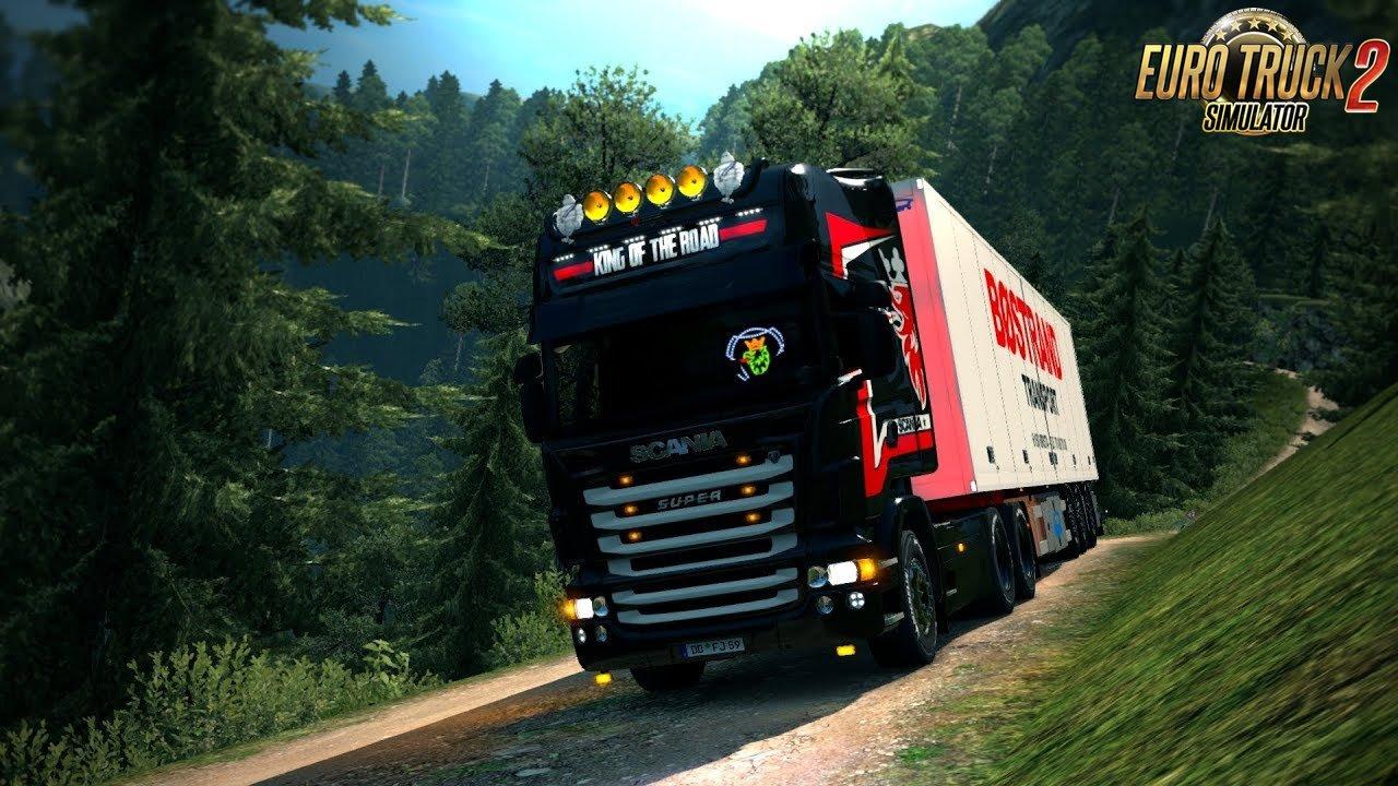 Complic Map v2.1 (1.31.x) - Euro Truck Simulator 2