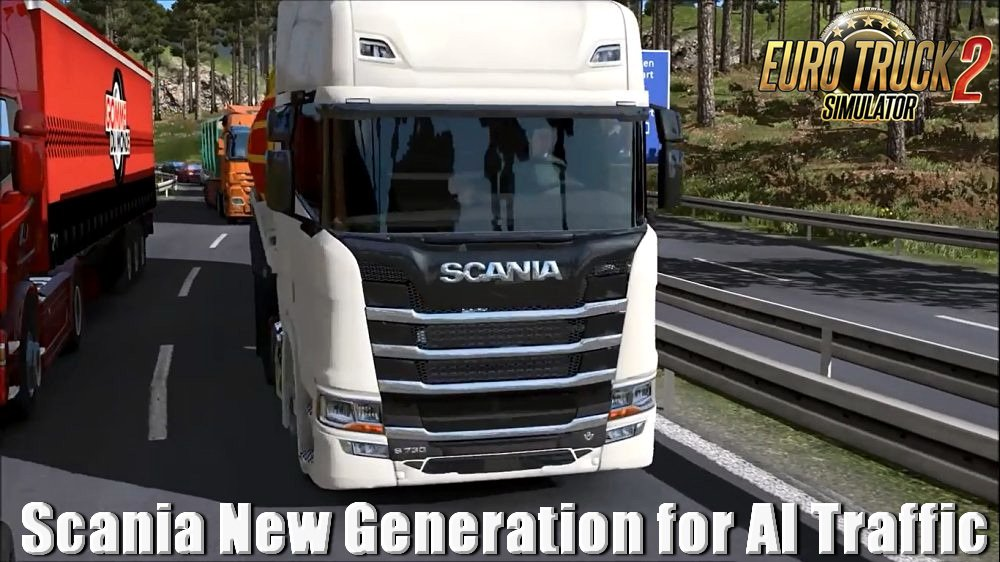 Scania New Generation for AI Traffic v1.0 (1.31.x)
