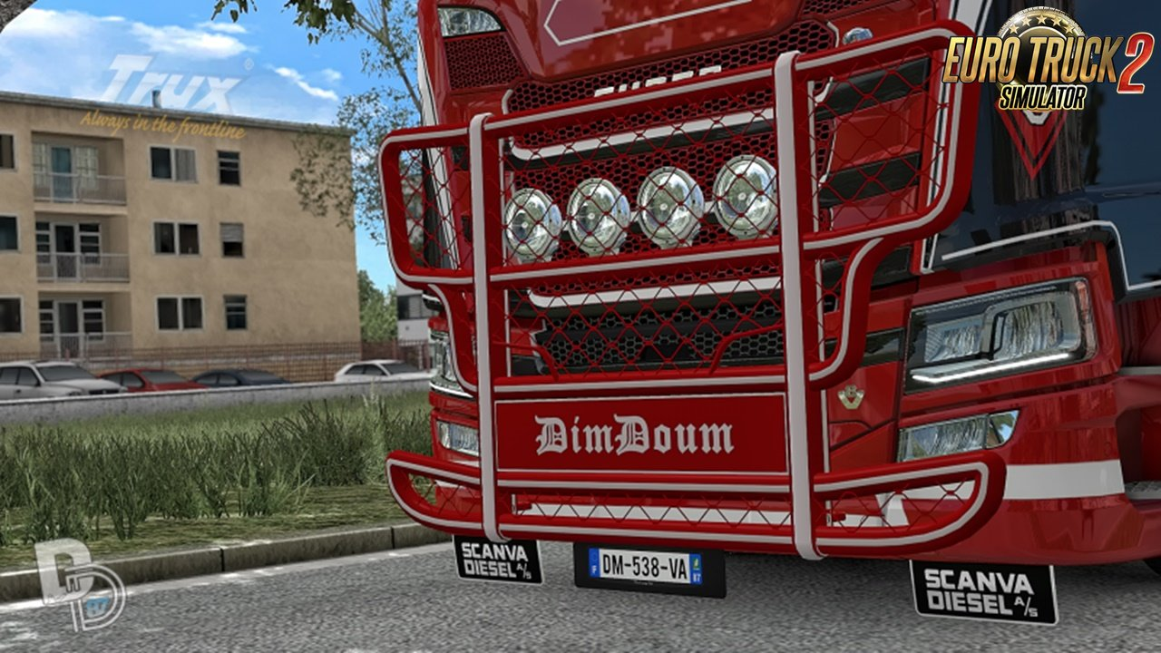 Trux Highway for Scania NextGen S/R incl. Template [1.31.x]