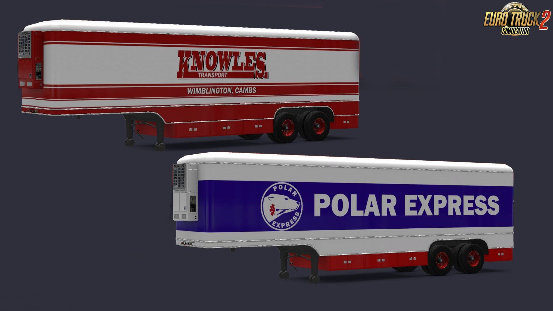 Trailer Kässbohrer v1.15 for Volvo F88 by XBS