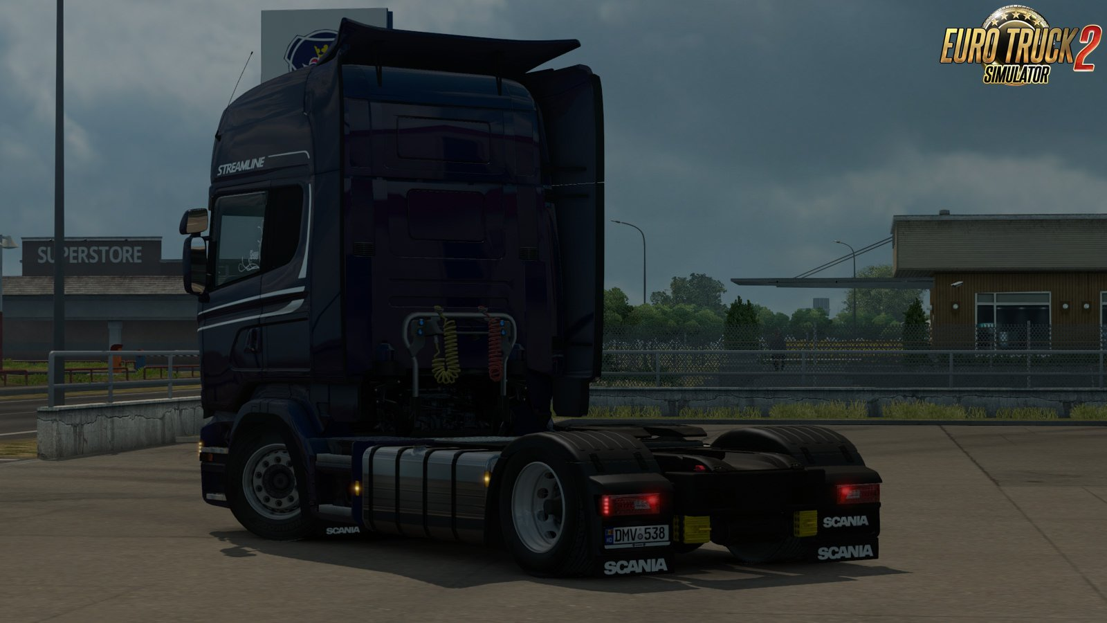 Low deck improved chassis for RJL's Scania R&S v1.1 by Sogard3