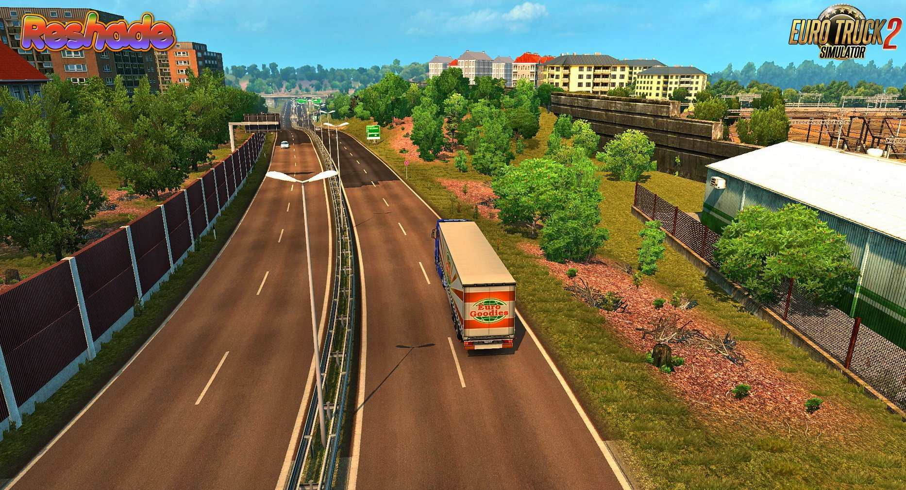 Realistic Graphics Reshade + SweetFX v1.6.1 by YanRed (1.32.x)