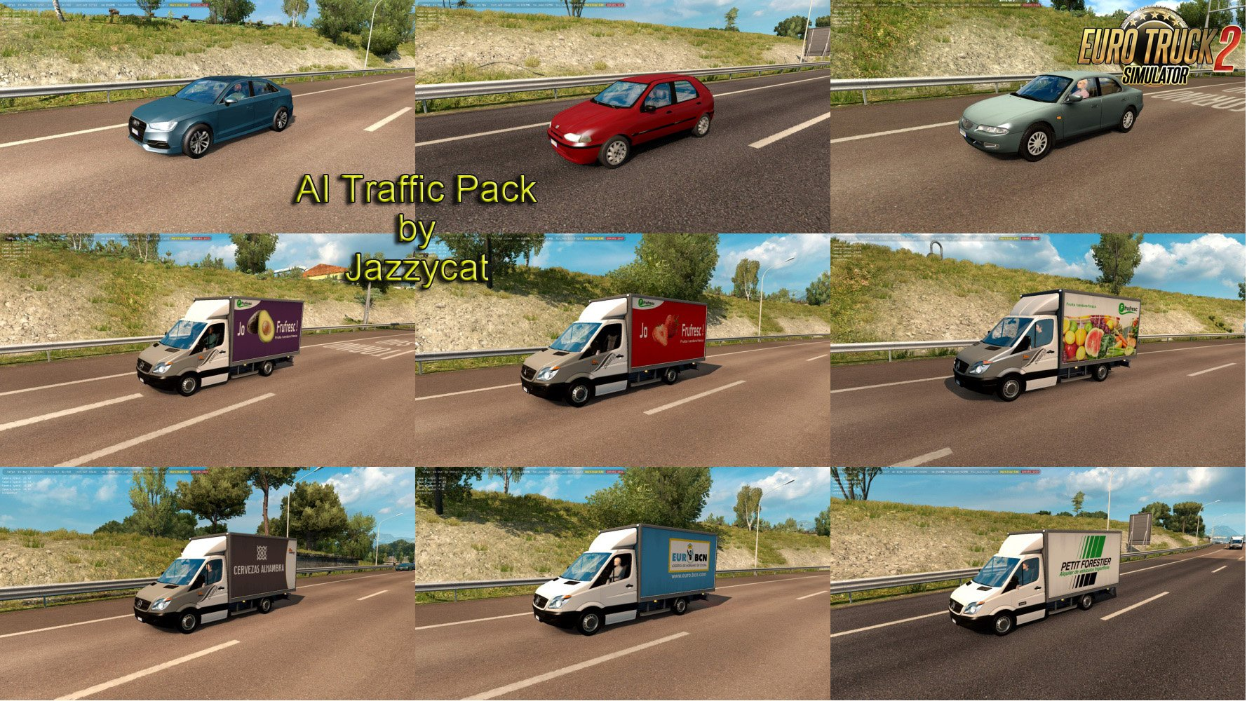 AI Traffic Pack v7.8 by Jazzycat