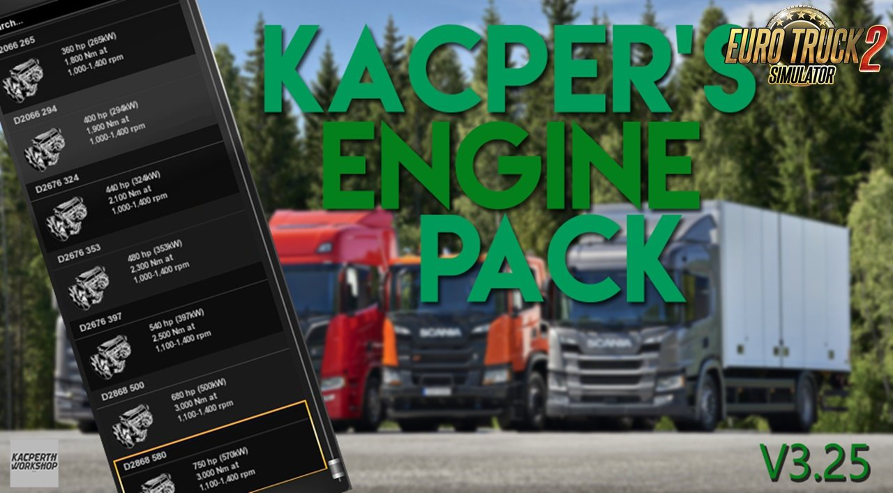 Kacper's Engine Mega Pack v3.25 [1.31.x]