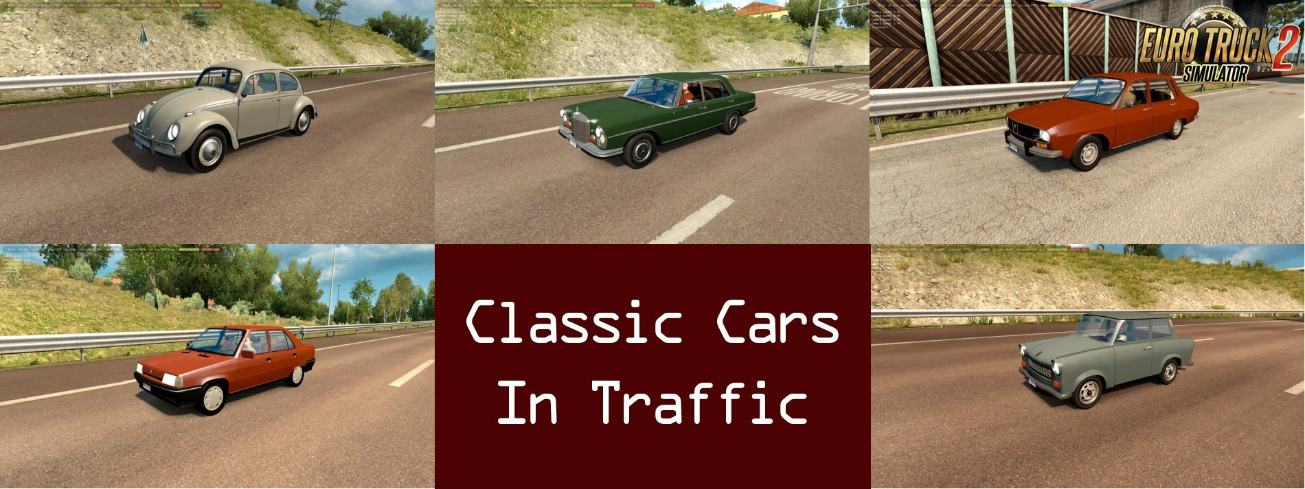 Classic Cars Traffic Pack v1.0 by TrafficManiac