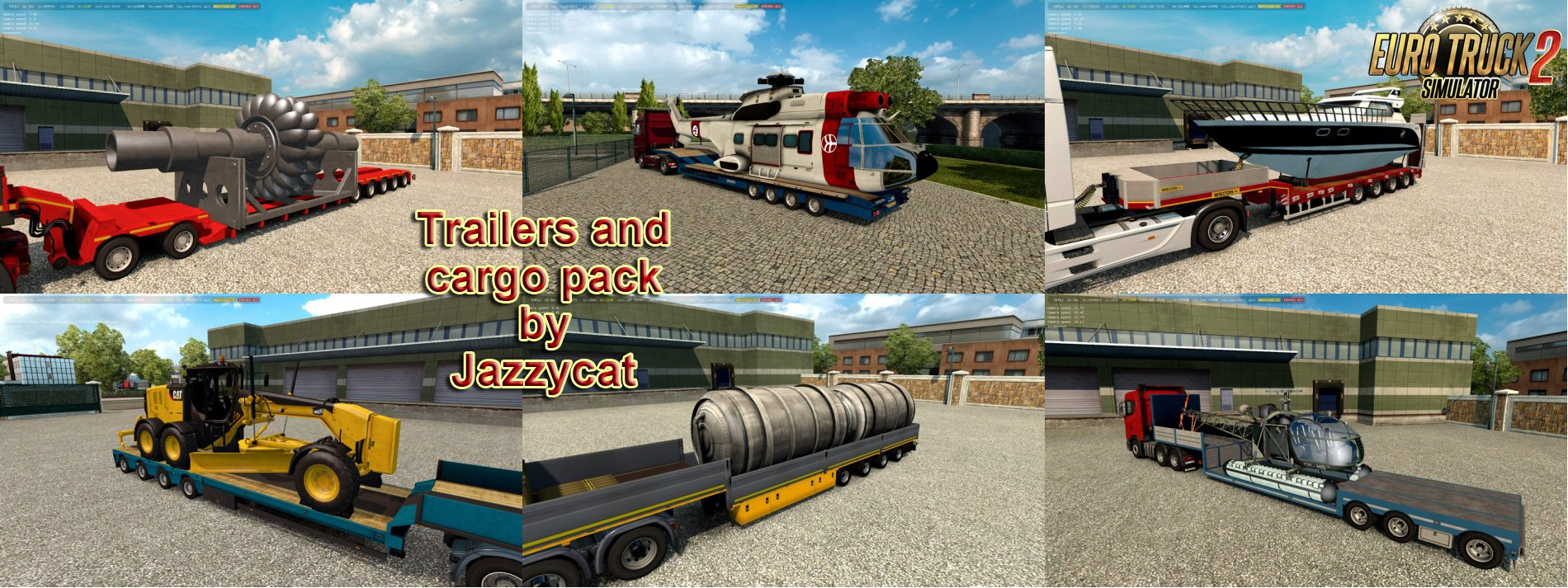 Trailers and Cargo Pack v7.2 by Jazzycat