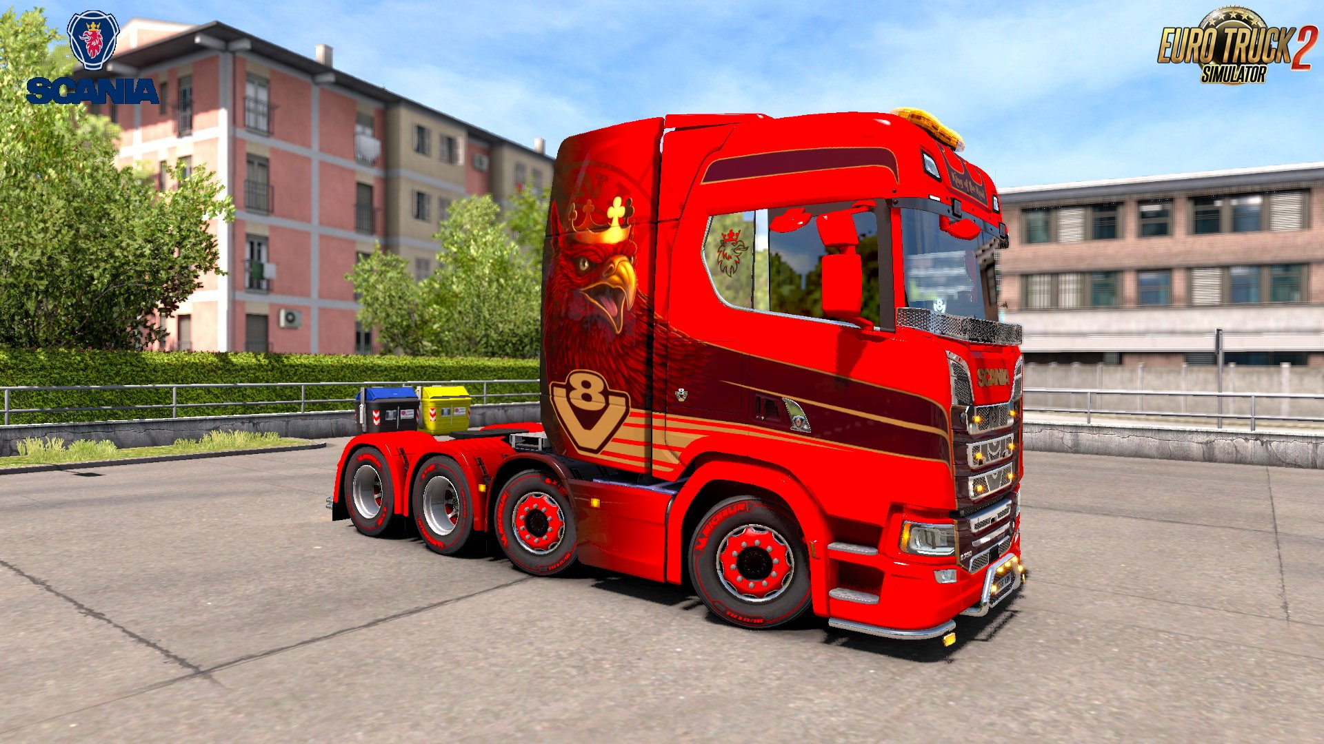 Scania S Series + Interior v2.0 Edit by .SrqN. (1.31.x)