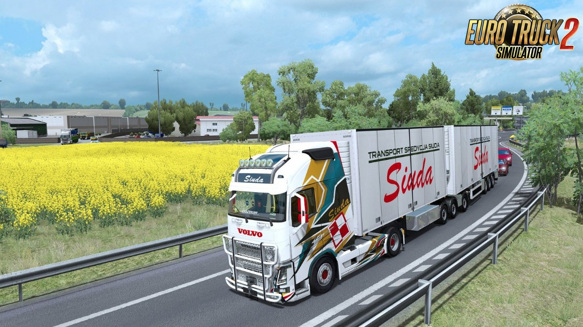 VAK Trailer Siuda Transport Paintjobs