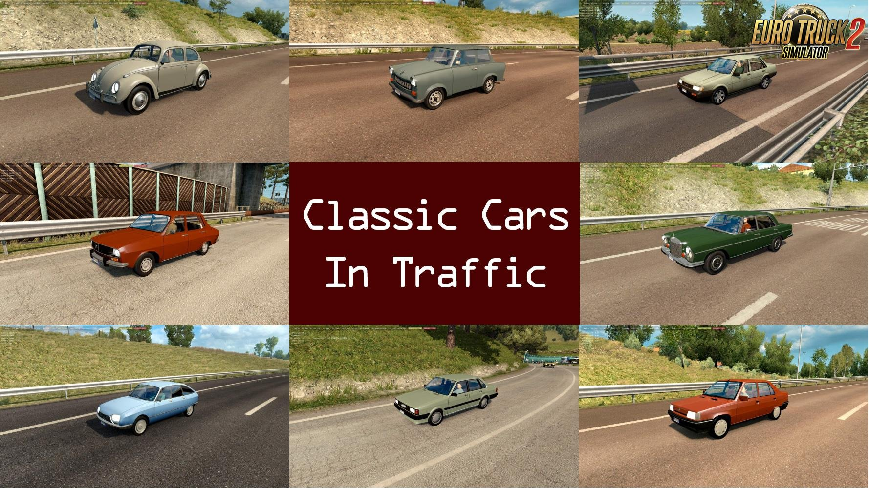 Classic Cars Traffic Pack v1.1 by TrafficManiac