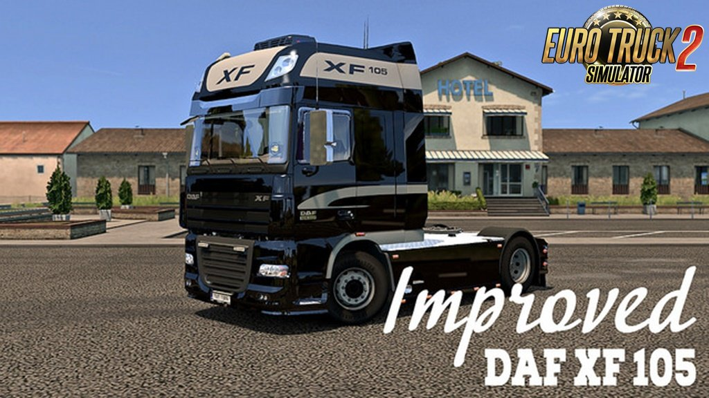 Improved DAF XF 105 v1.6 by AlexeyP