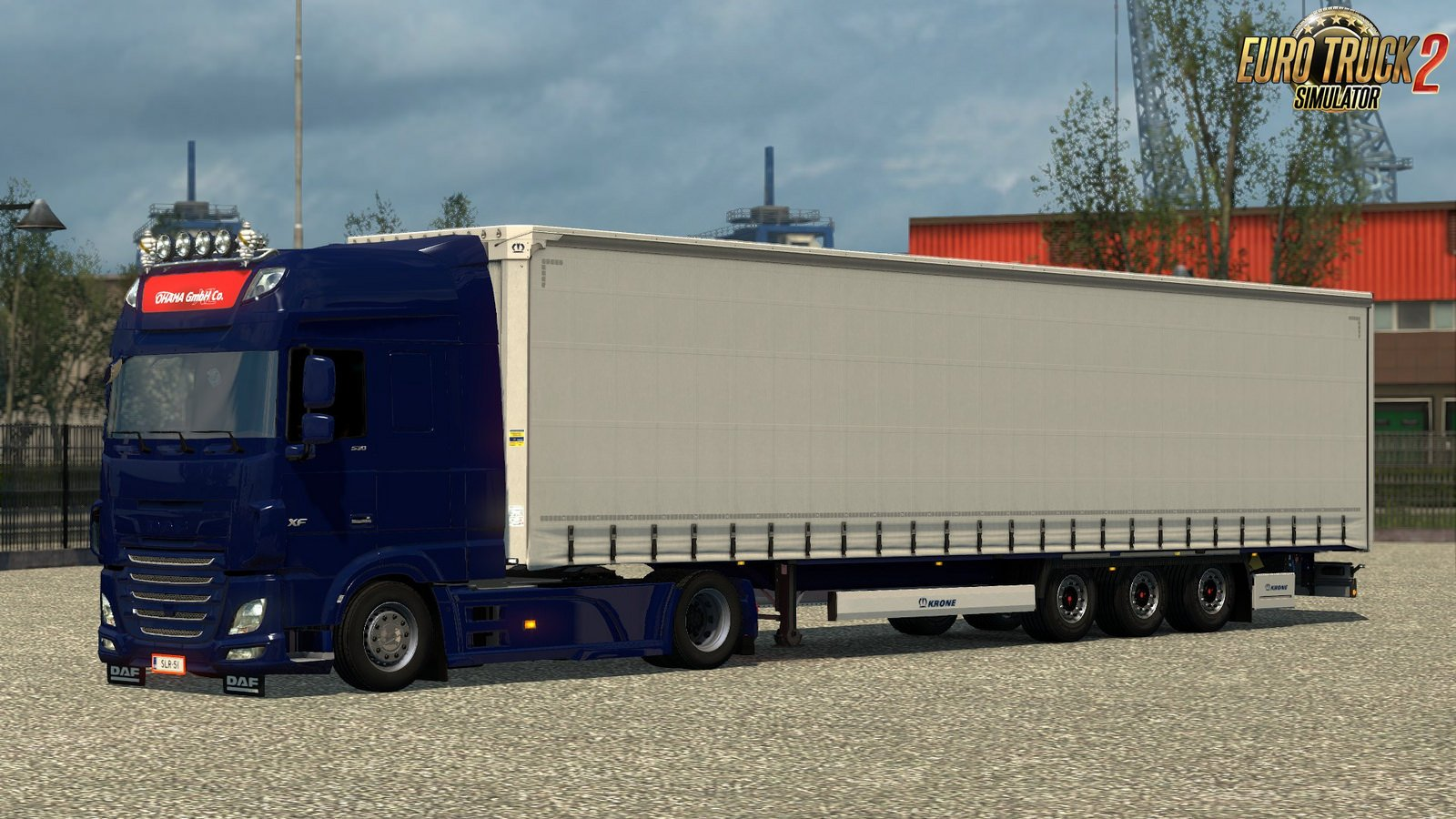 Krone Mega Liner trailer for Ets2