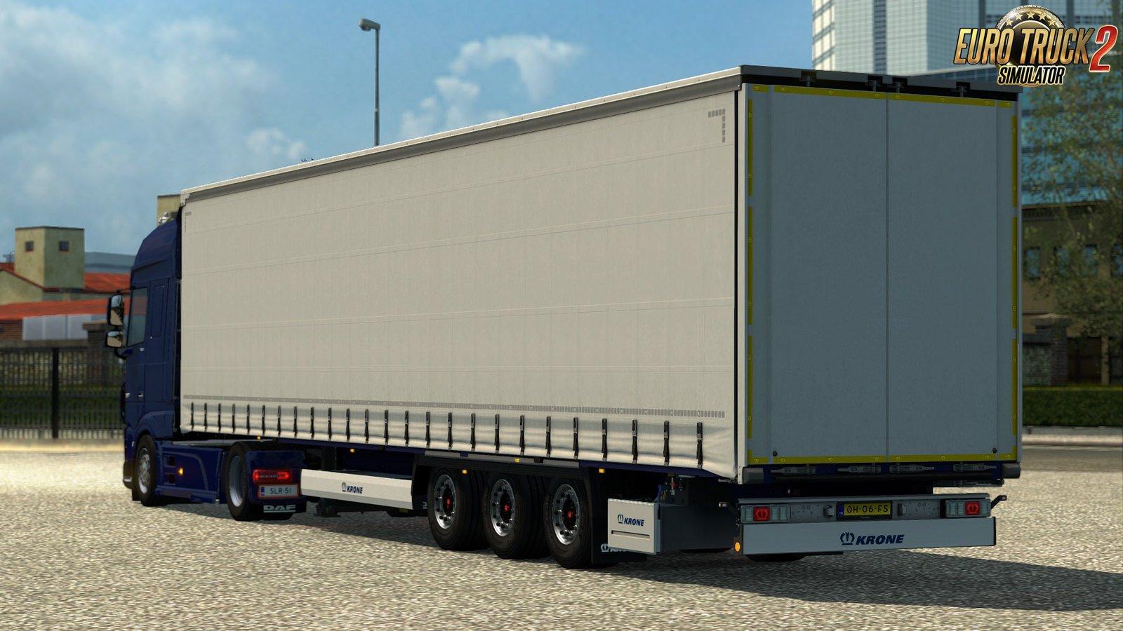 Krone Mega Liner trailer for Ets2
