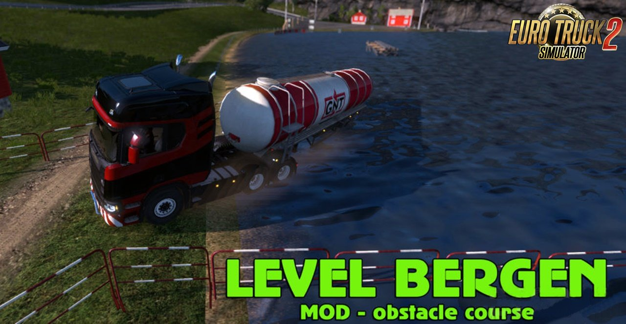 Level Bergen Mod v1.2 (Obstacle course)