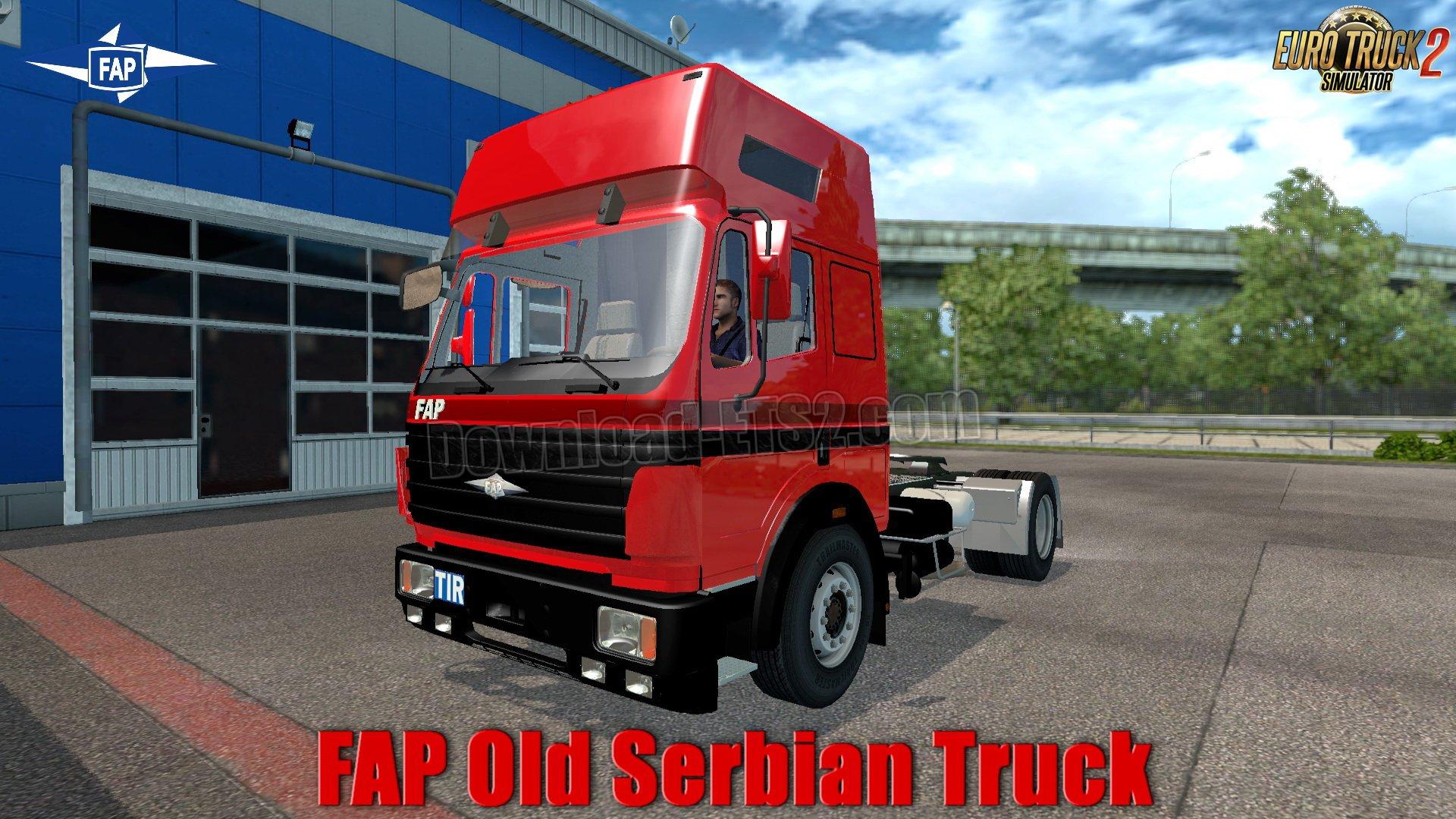 FAP Old Serbian Truck v1.0 (1.31.x)