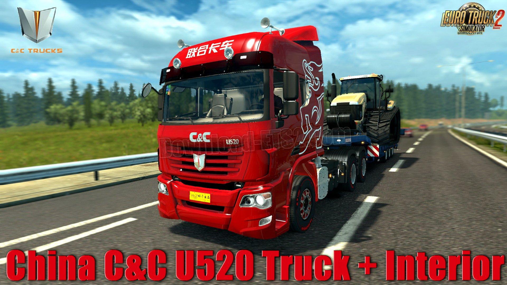 China C&C U520 Truck + Interior v1.0 (1.31.x)