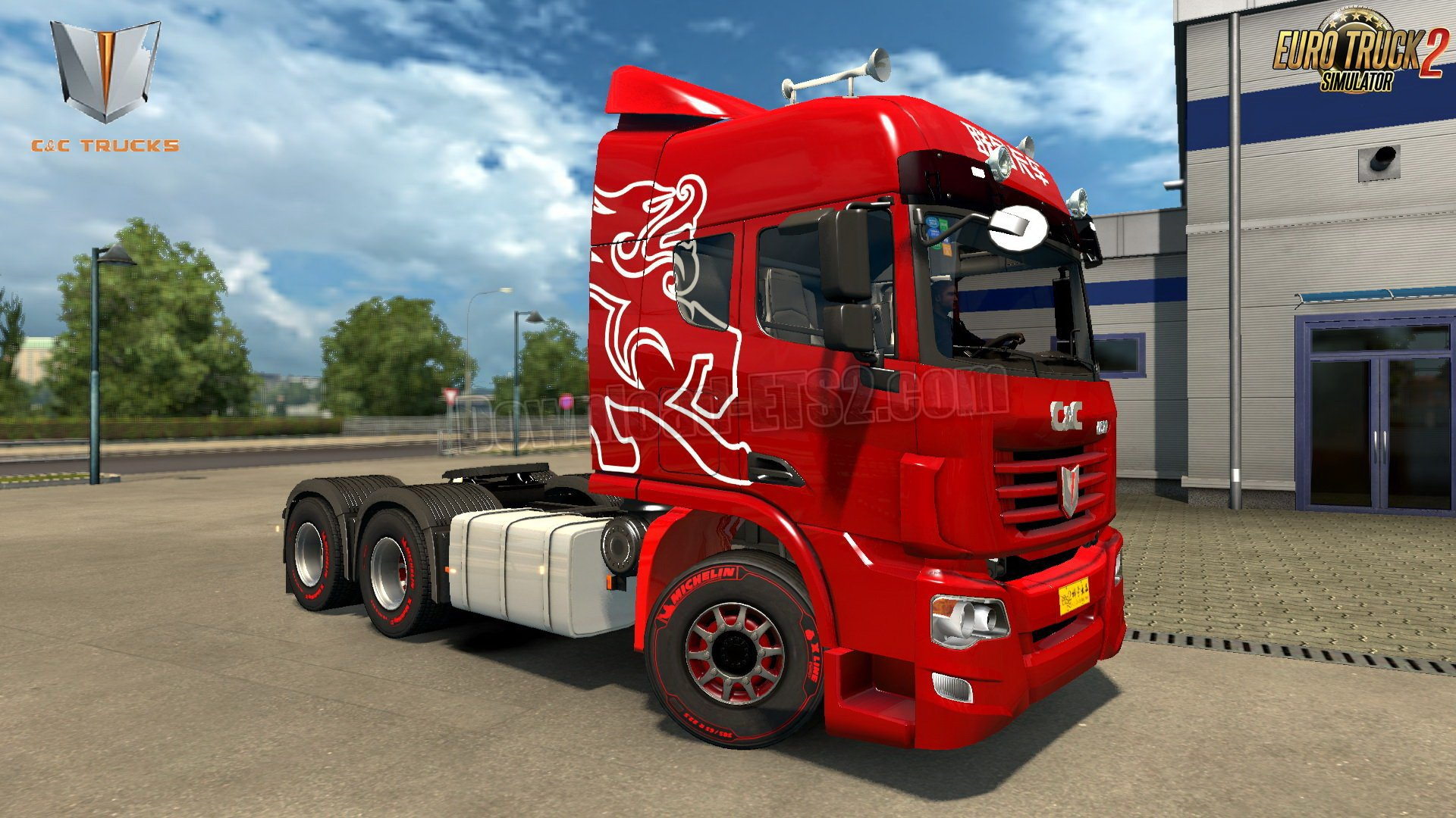 China C&C U520 Truck + Interior v1.0 (1.31.x)