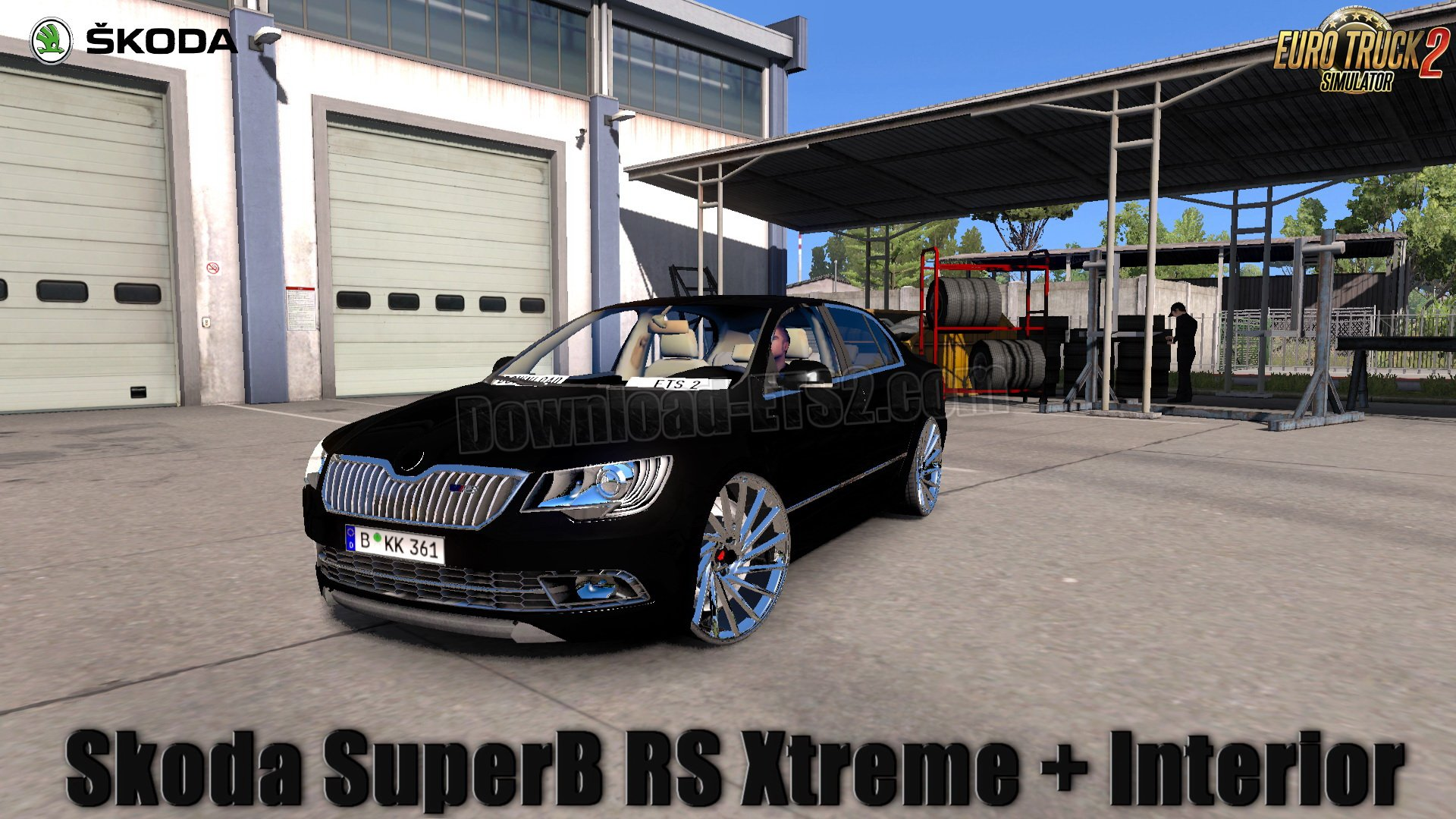Skoda SuperB RS Xtreme + Interior v1.0 (1.31.x)