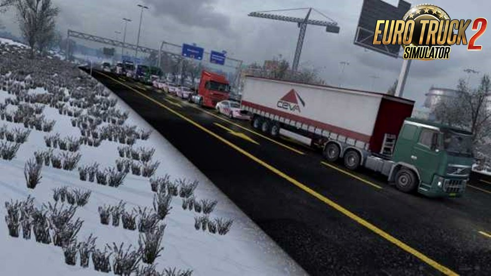 Only Trucks Traffic Jam v2.0 (1.31.x)