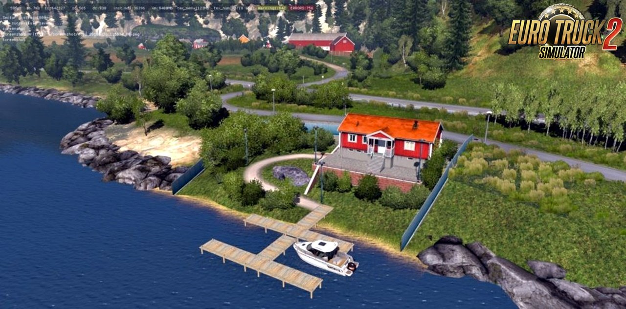 House – Near Bergen for ProMods
