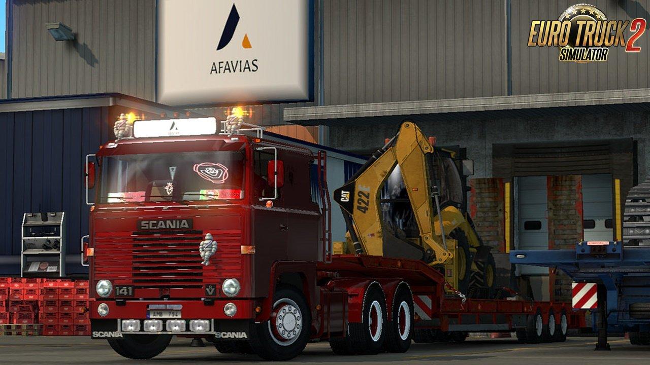 Scania LK 141 v2.0 for Ets2