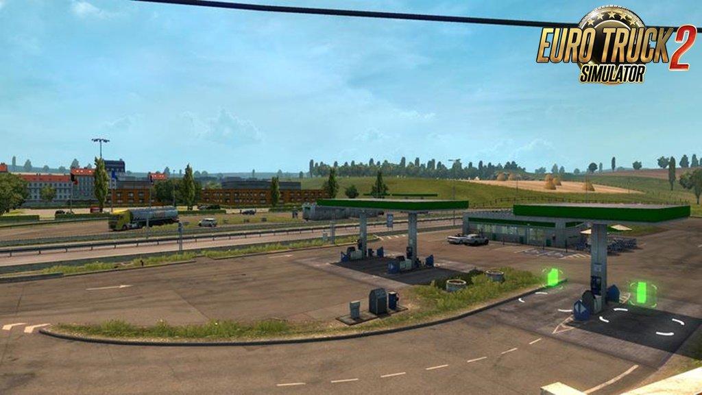 Belgium-France Border Gas Station Improvement v1.0