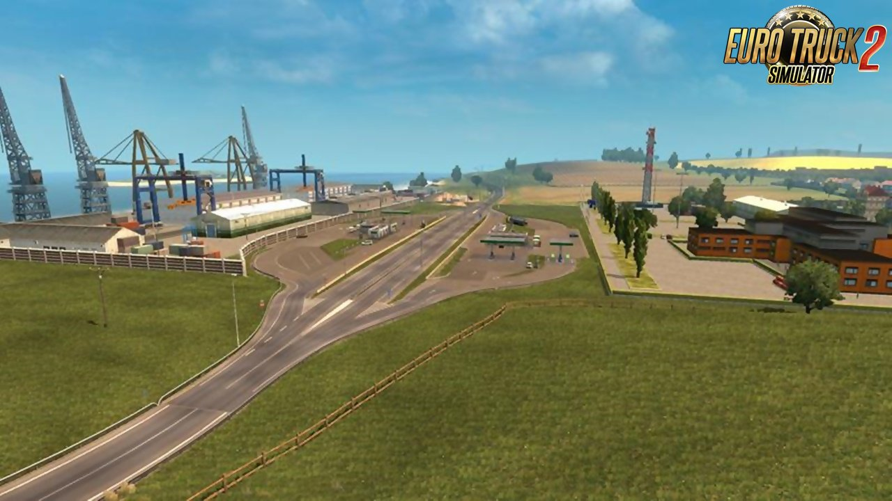 Belgium-France Border Gas Station Improvement v1.0
