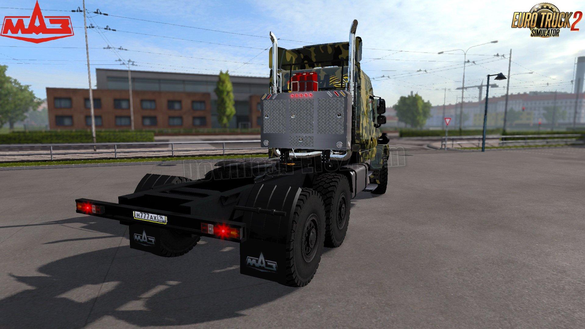 MAZ-6440 Off-Road + Interior v1.0 (1.31.x)