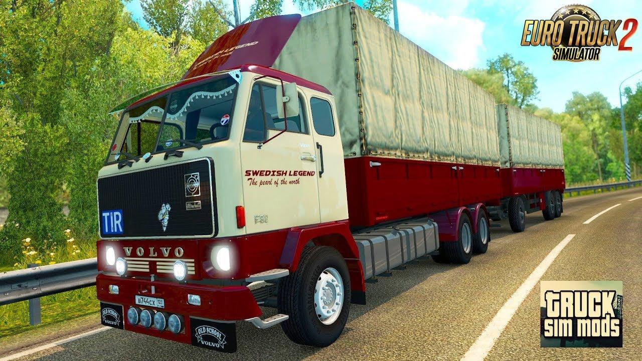 Volvo F88 v1.2.1 by XBS (1.31.x) - Euro Truck Simulator 2