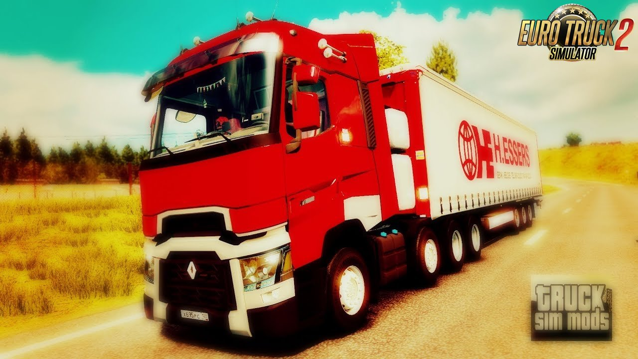 Renault Range T 480 Euro 6 v8.0 by PMT (1.31.x) - Euro Truck Simulator 2
