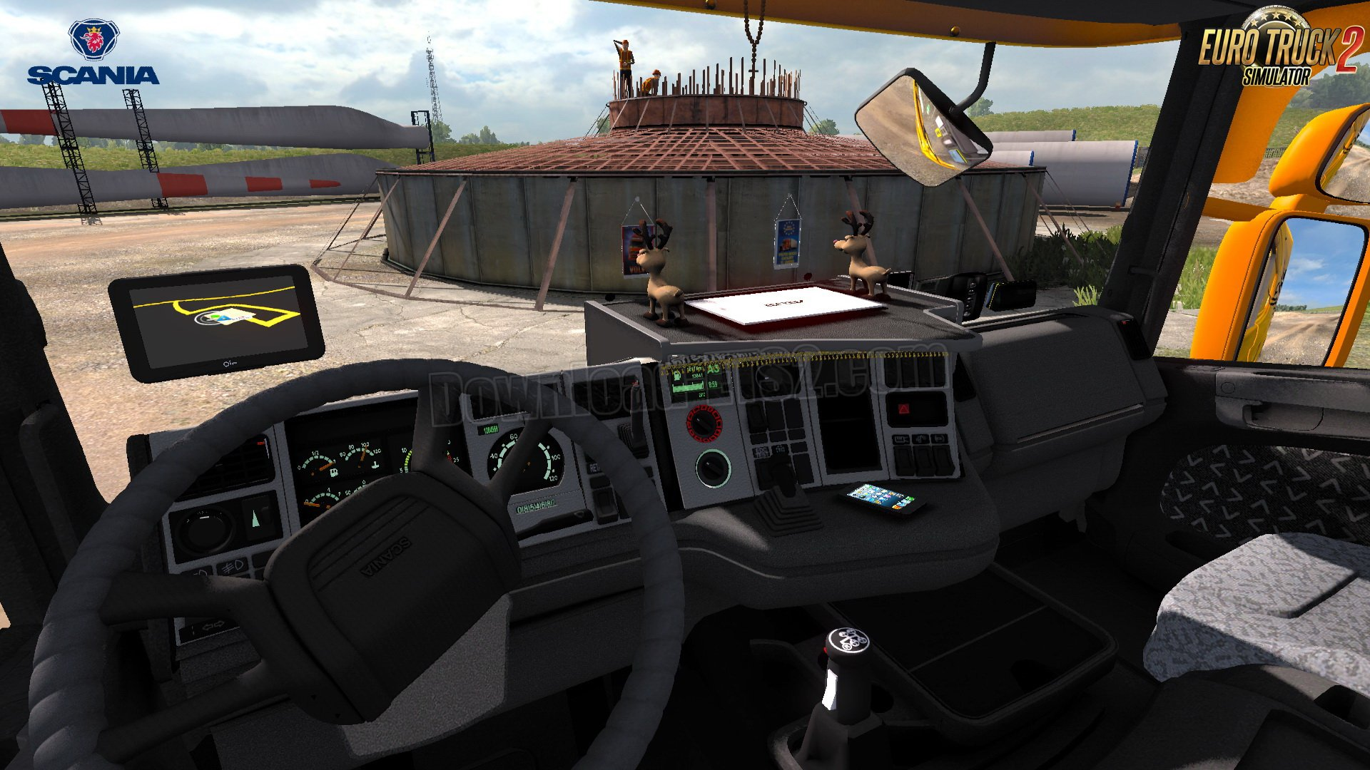 Scania 4 Series + Interior v1.0 by Kirill Mladshev (1.31.x)