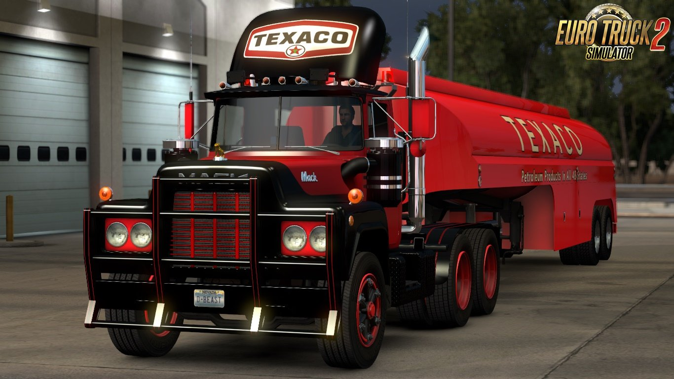 Texaco Mack R Series Skin for Ats and Ets2