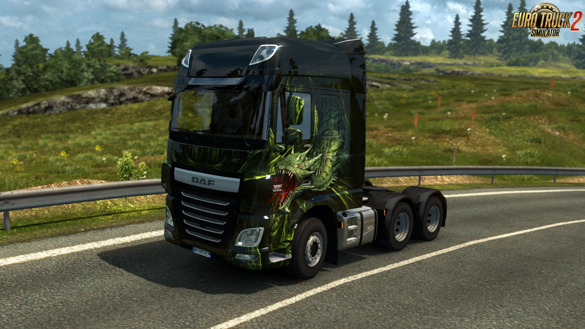 Dragon Truck Design Pack DLC for Euro Truck Simulator 2