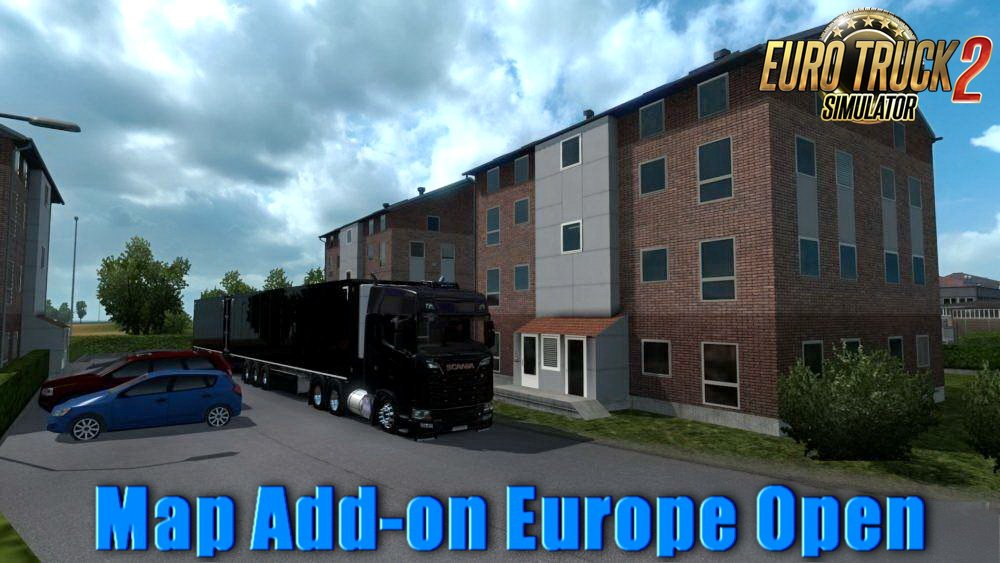 Map Add-on Europe Open v3.2 (1.32.x)