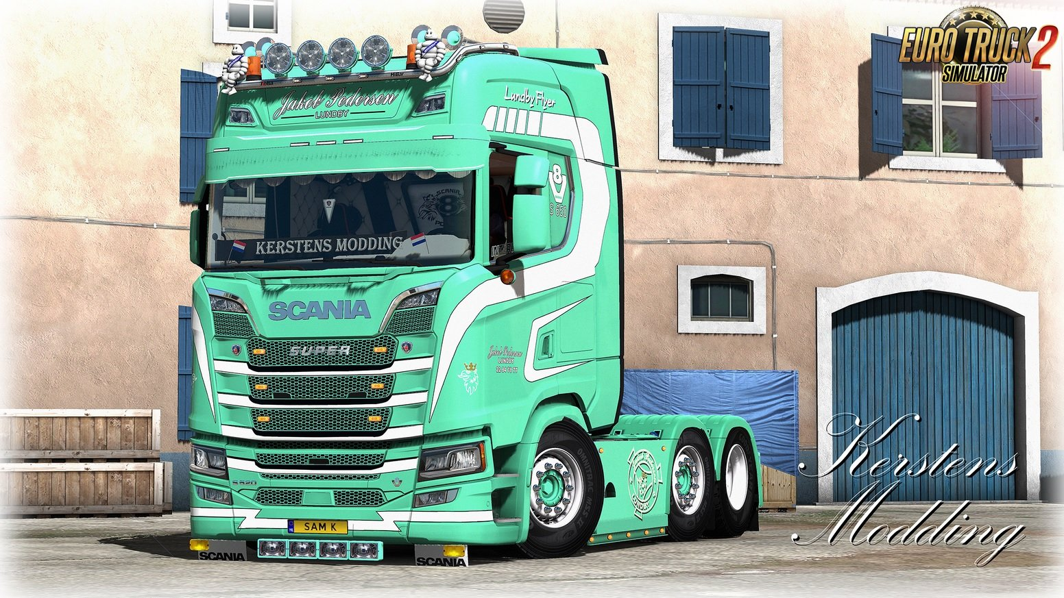 Jacob Pedersen Lundby Skin for Scania S v1.0 (1.32.x)