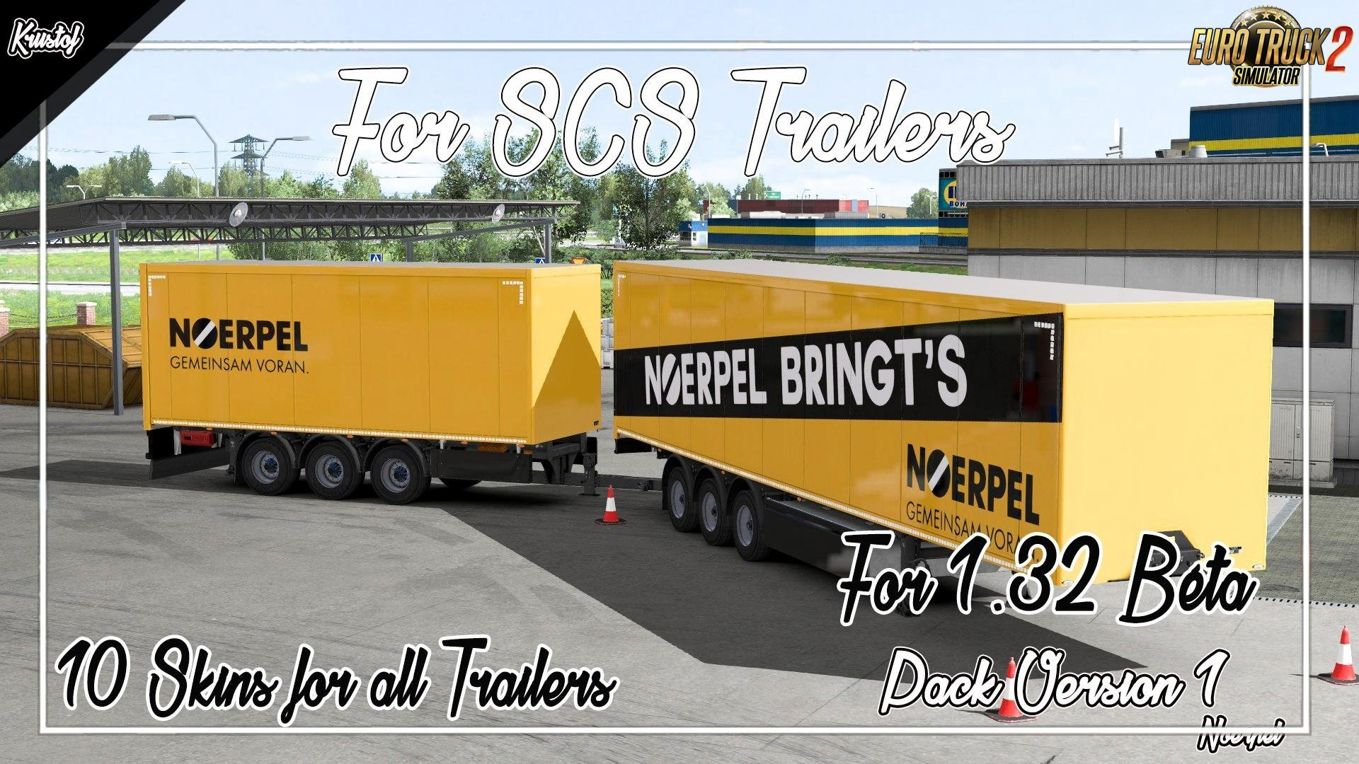 Kriistof Packs Skins SCS Trailers [1.32.x]