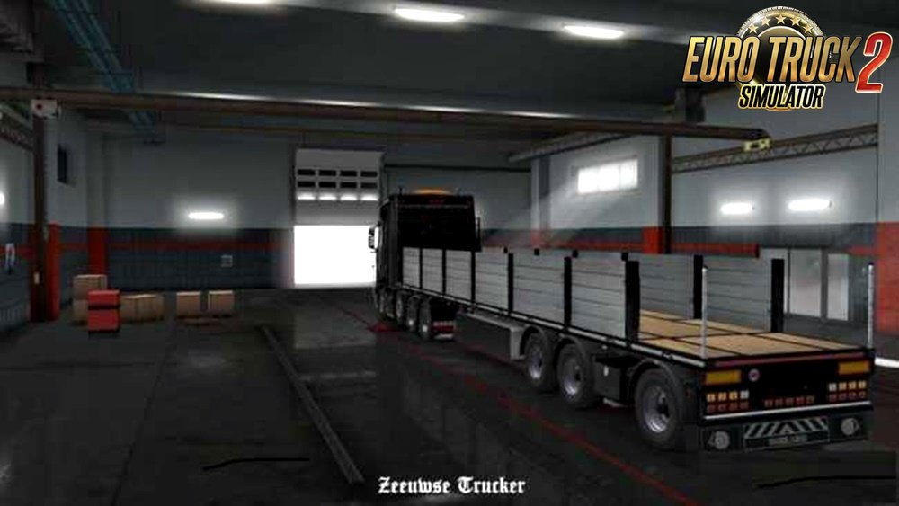 Owned Flatbed Trailer Edit for Ets2