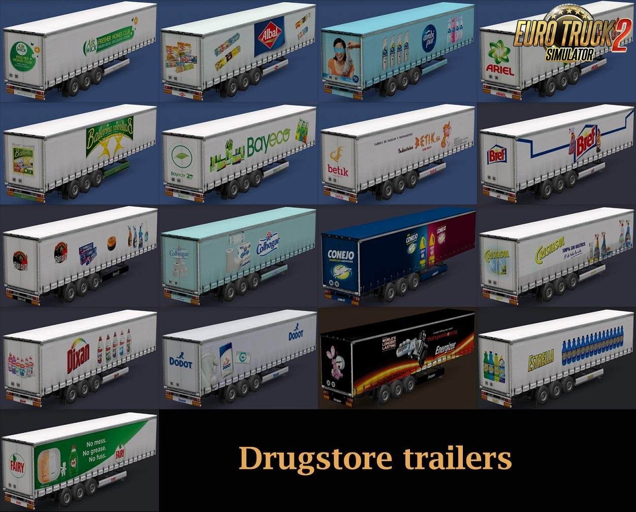 Drugstore Products Trailers v1.0 by Maryjm