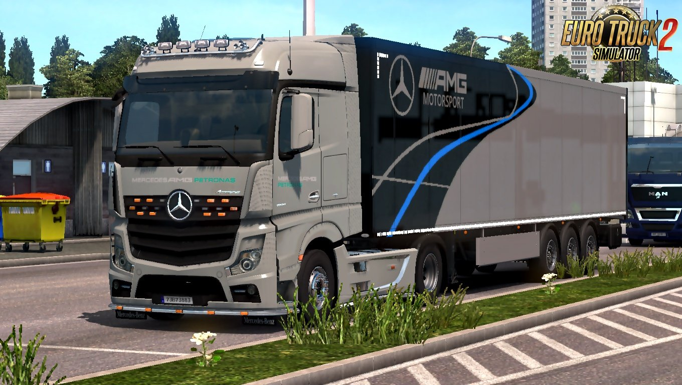 Mercedes AMG F1 Skin pack by Borghjes