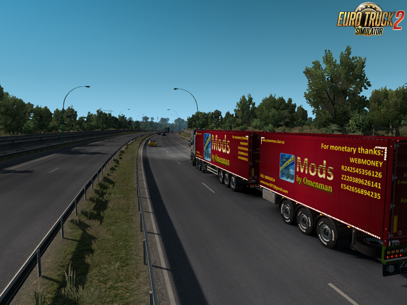 Unlocked Scandinavian semitrailers [1.32] by OveRTRucK