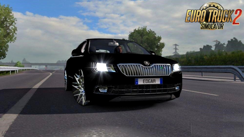 Škoda SuperB RS (Original Engines) v6.0 for Ets2