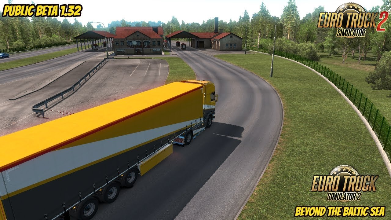 Beyond the Baltic Sea DLC - Euro Truck Simulator 2